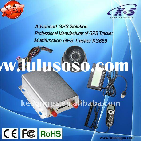 Multifunctional GPS tracker with camera/ tracking device/gps tracking,with RS232 port, ,support RFID