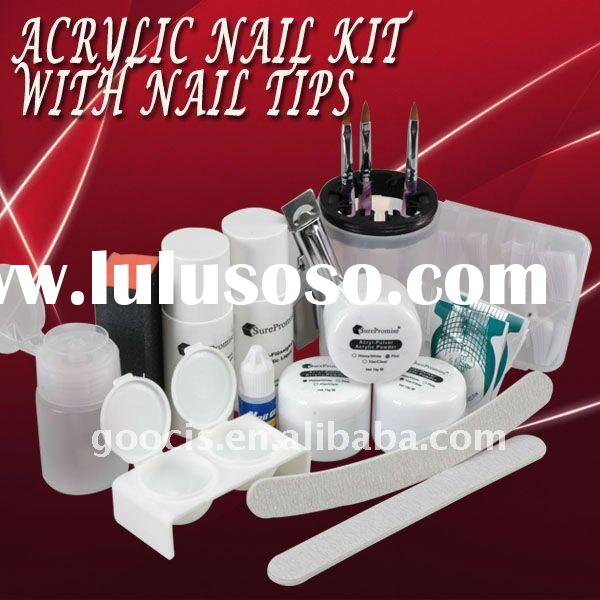NAIL ART Acrylic powder Pliers False nail Kit