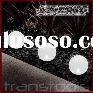 NEW! Outdoor Solar Light Garden Round Ball Light Waterpot Lamp