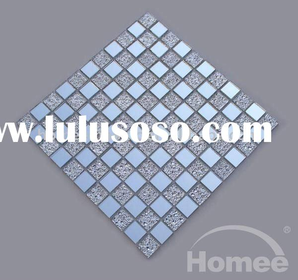 NM09 crystal silver mirror glass tile-mirror wall tile