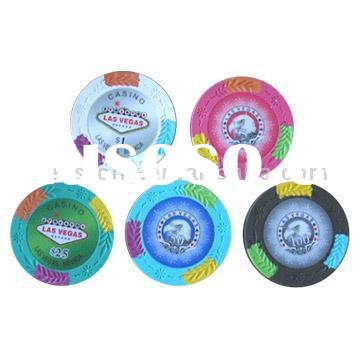 New Design Clay Paulson Poker Chips & Custom Casino Clay Poker Chip Sets