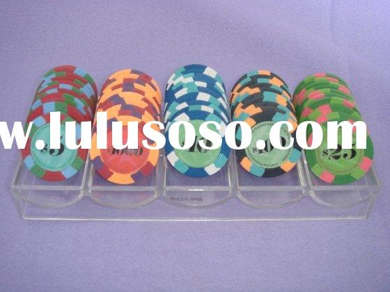 New Design Real Clay Poker Chip Set(AU-PC-N1001)