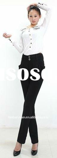 New Spring Style Harem Trousers for Female M-XXXL with Four Pockets