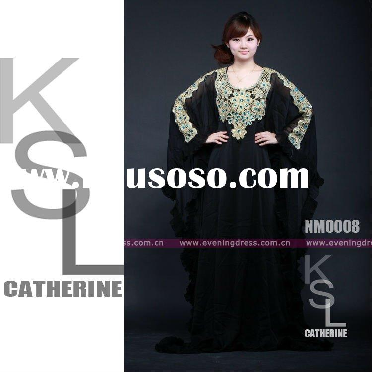New Style Dubai Abaya Collection 2012