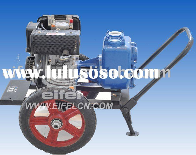 New Style EJM Self priming pump with diesel engine