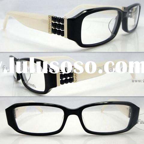 New arrival eyeglasses 9 pearls eye glasses frame spectacles ladies spectacles frame brands CH5160