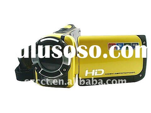 New design waterproof HD camcorder with 1080P 16MPCMOS HDDV-F901C