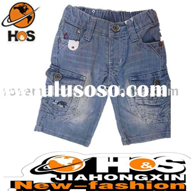 Novel Style Washed Kid Jeans Fashion in 2011 CP0015