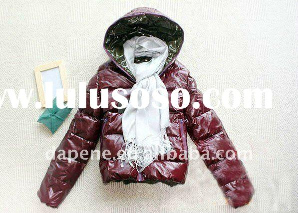 OEM&ODM Service Women Feather Down Jacket Feather Coat