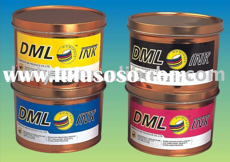 Offset Printing Ink - Quick Set Glossy Non-Skinning
