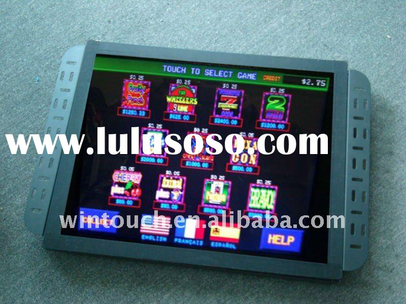 Open Frame LCD with IR/SAW/Resistive/Capacitive touchscreen for POS, gaming, vending,kiosk,digital s