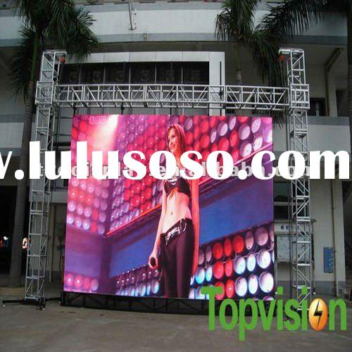 PH10 led display stage video panel for rental