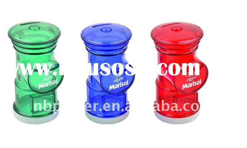 PLASTIC COIN BANK IN MAILBOX SHAPE YC358