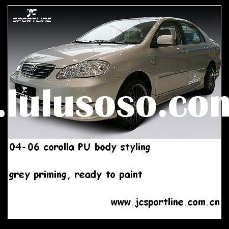 PU a Body kit/ auto parts/ car body kit For 2004--2006 Toyota Corolla