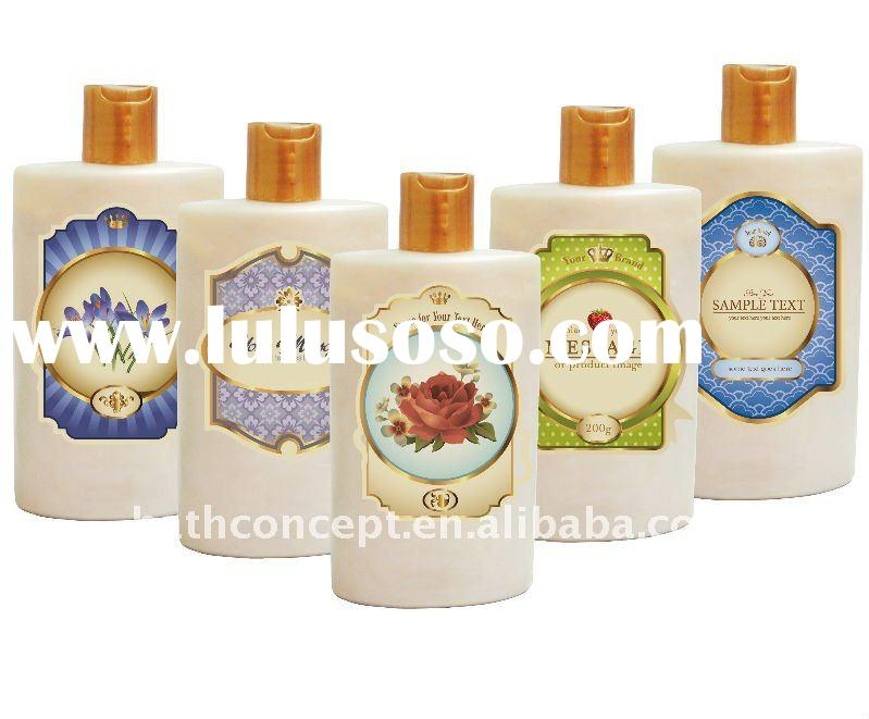 Perfect BODY LOTION in your BRAND (Optional Flavors, Bottle, Customize design label)