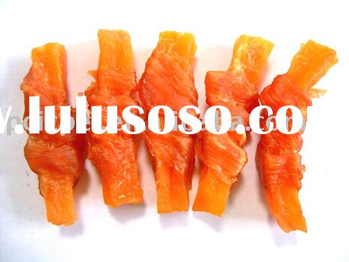 Pet Treat :Dried chicken with sweet potato