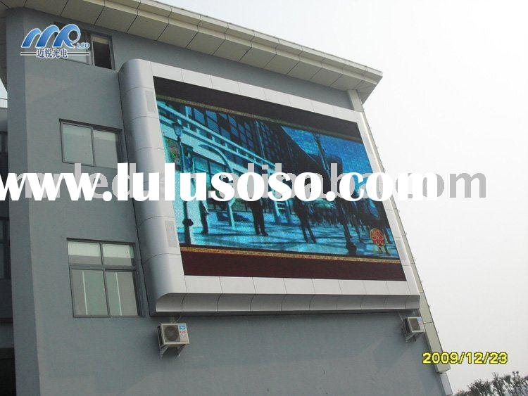 Ph16mm Outdoor Full color LED wall display screen