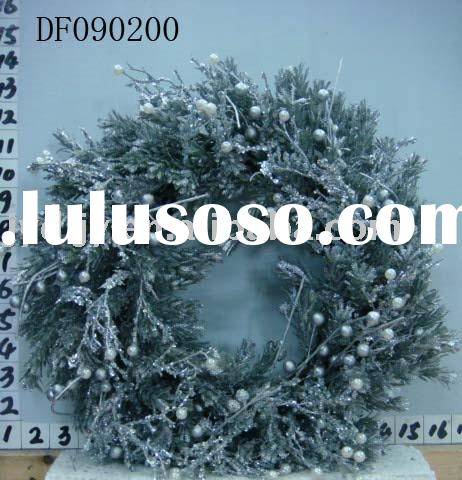 Plastic wreath DF090200