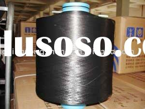Polyester Yarn ,Dope Dye Black,Chemical fibre,DTY