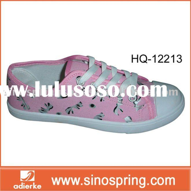 Popular girl fabric shoe