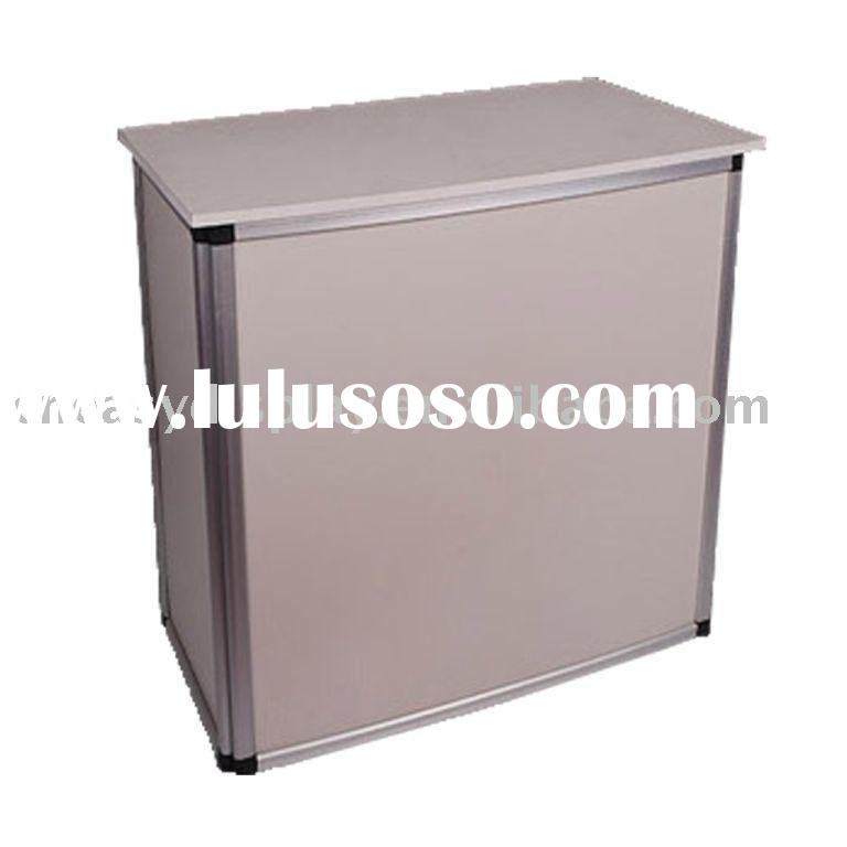 Portable promoter table, Booth trade show counter ED7-21