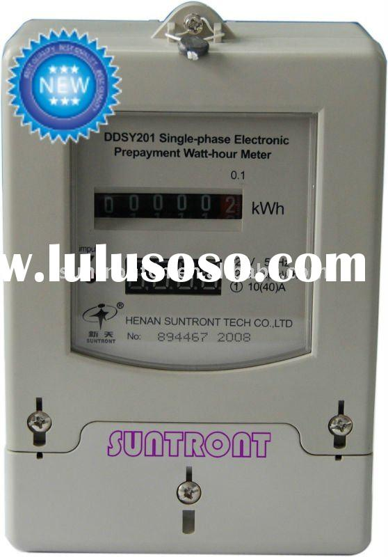 Prepaid Single-phase Contactless IC Card Electric Meter(DDSY201F)