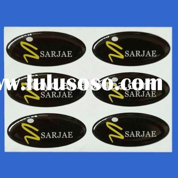 Printed Oval Epoxy Resin Domes Manufacturer