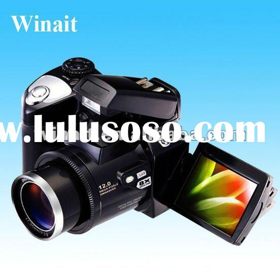 """Professional SLR type digital camera with 2.4"""" LTPS LCD"""