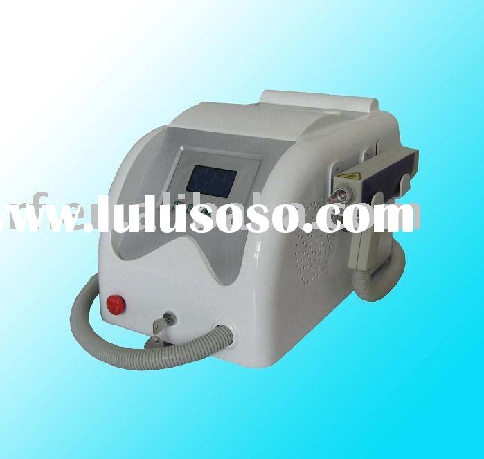 Q-switched Nd: YAG eyebrow purifying laser system