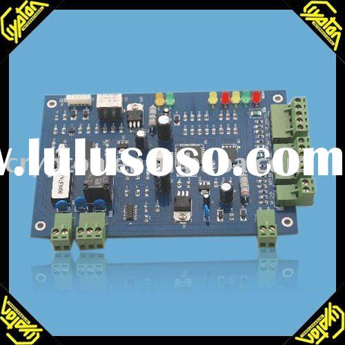 Relay door access control board with TCP/IP and converter