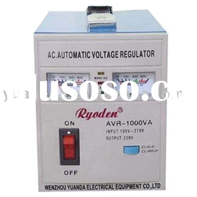 Relay type voltage stabilizer(AVR-1000VA)