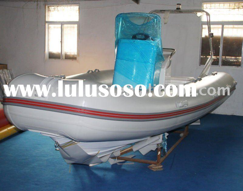 Rib console inflatable boat 550