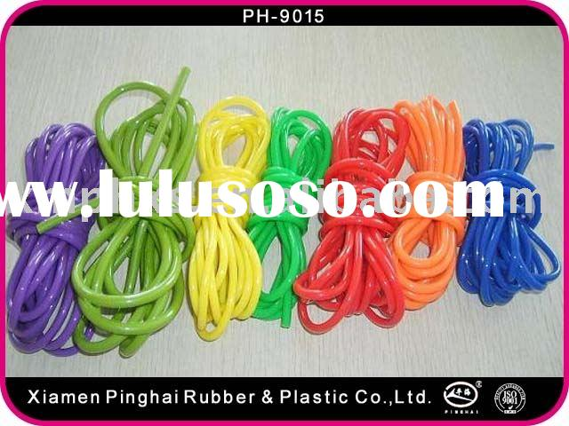 Rubber skipping rope
