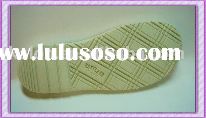 Rubber sole for beach sandal