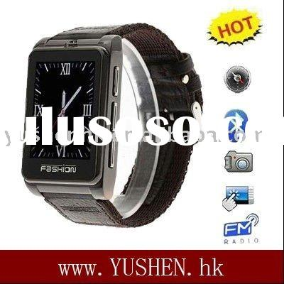 S9120 1.8 inch touch screen compass canva wristband watch cell phone
