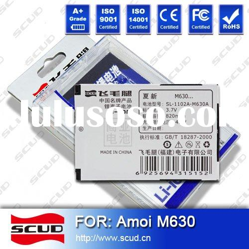 SCUD Long-Lasting Mobile Phone Battery for Amoi M630 Business Series