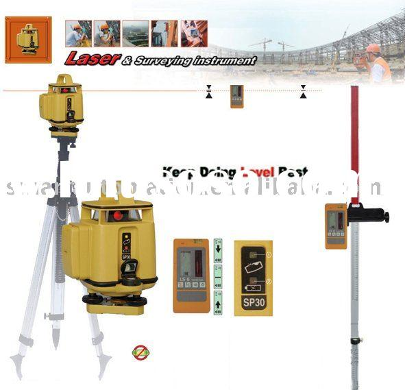 SP30 Automatic Self-leveling rotary Green Laser Level kit,
