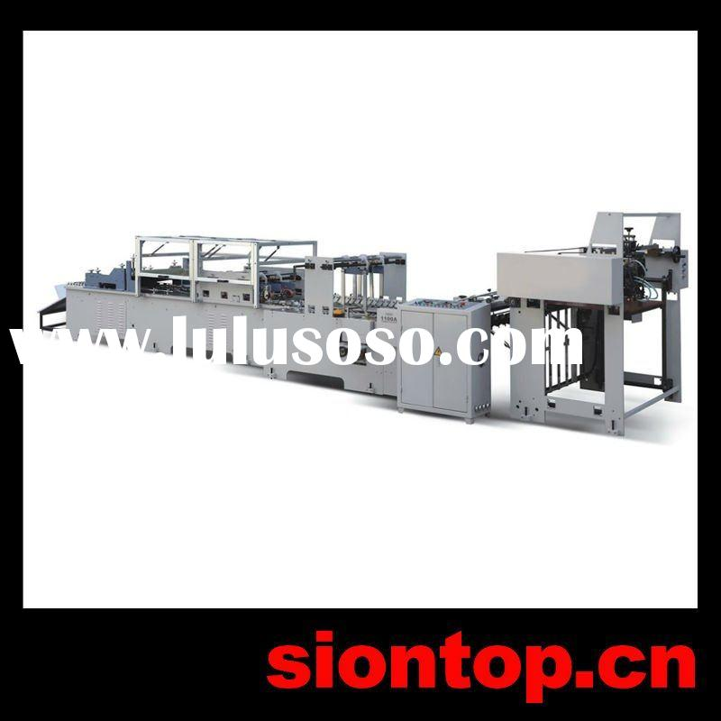ST1100A Used Sheet Fed Square Bottom Paper Bag Making Machine Price