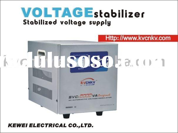 SVC-10000VASVC servo motor voltage stabilizer;universal voltage stabilizer;SVC voltage stabilizer