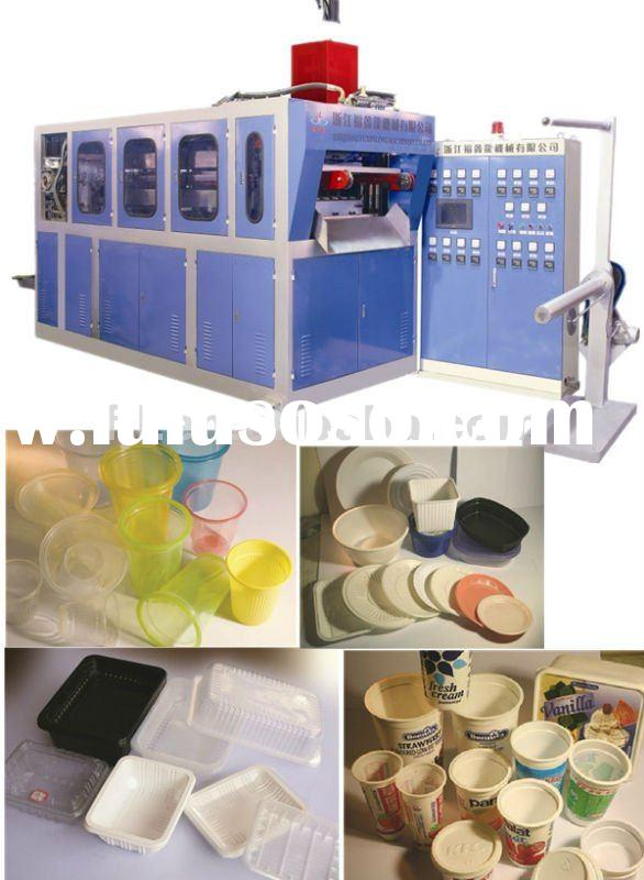 SZ-680 PP/PS/PET water drinking cup making machine
