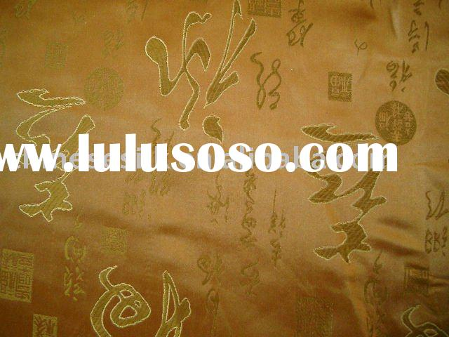 Silk Brocade fabric , Yarn Dyed Jacquard , Cloth material with picture-weaving , Jacquard woven mate