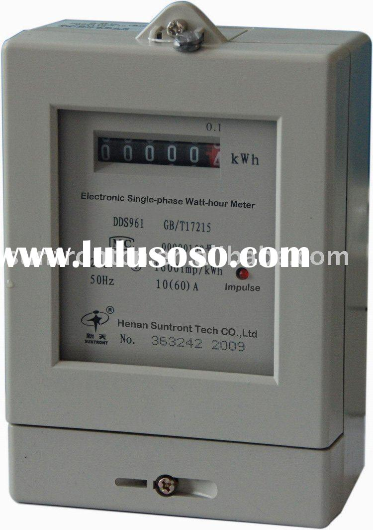 Single Phase Power Meter : Single phase electric meter box for sale price china