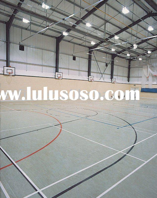 Indoor basketball court sports vinyl floor for sale for Indoor basketball court flooring cost