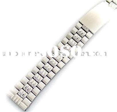 Stainless Steel Watch Bands, bracelet, metal bands for men's and lady's watches