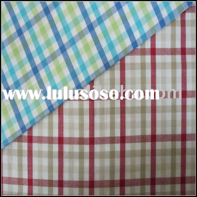 Stretch Plaid Fabric