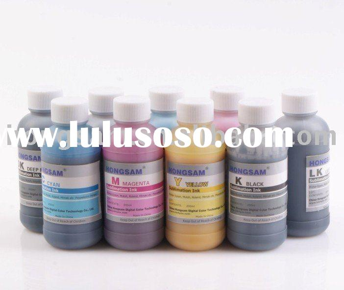 Sublimation ink--Hot selling in South America countries !