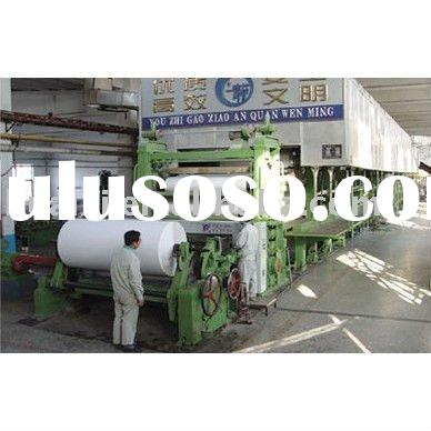 Supply office A4 copy paper making machine