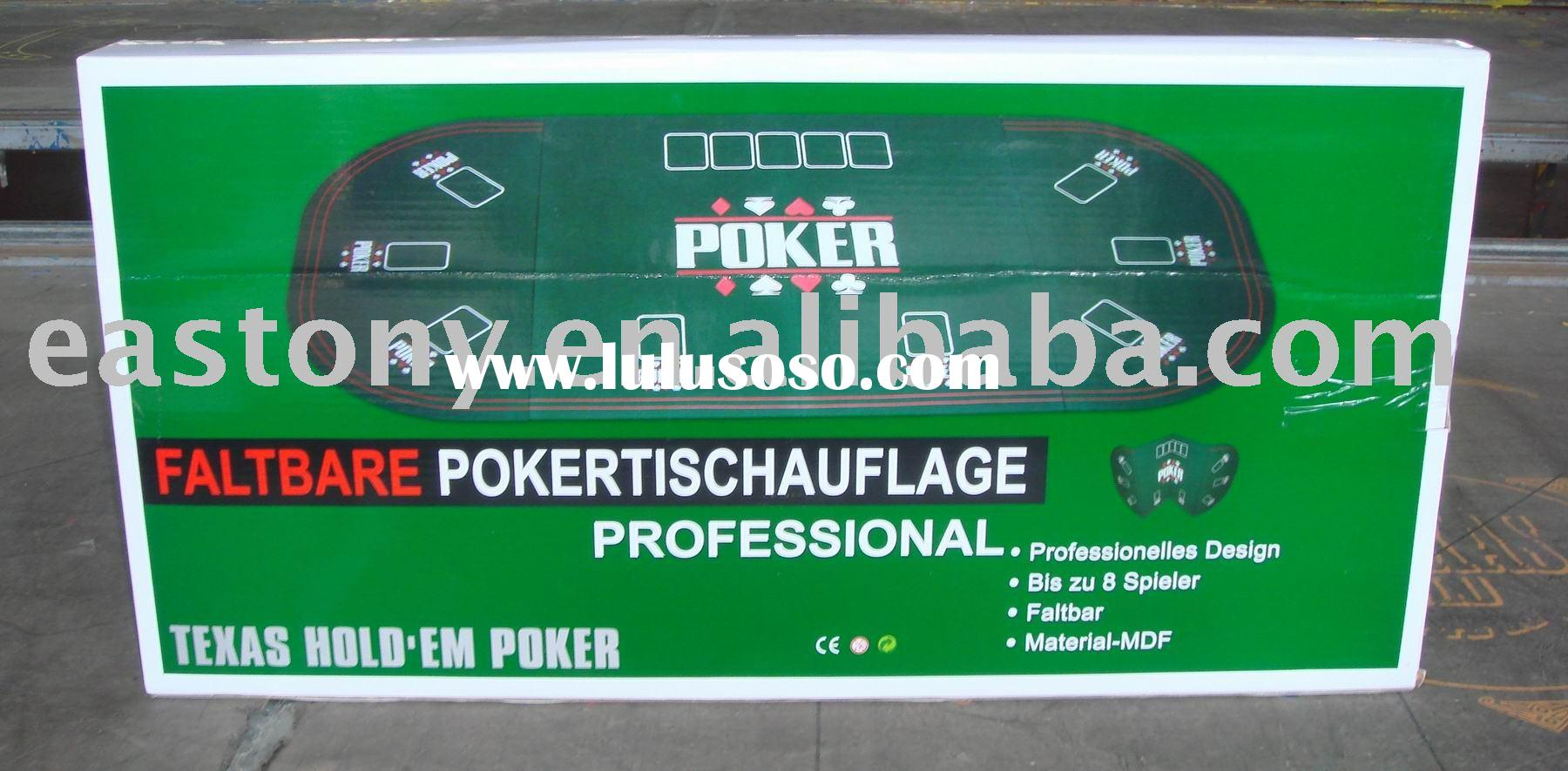 TEXAS Holdem Portable poker table top