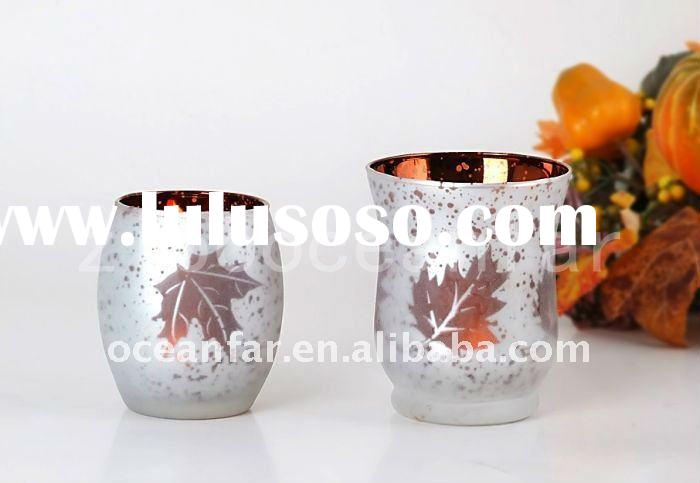Tea-light or Votive candle holder for Autumn Serie. Many colors & sizes available