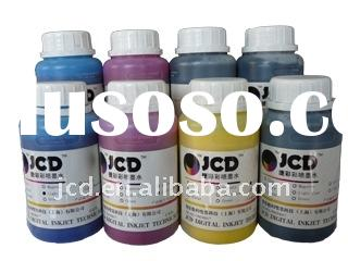 Textile Ink for Direct to Garment Printing with Flatbed Printers Modified from Epson 7880